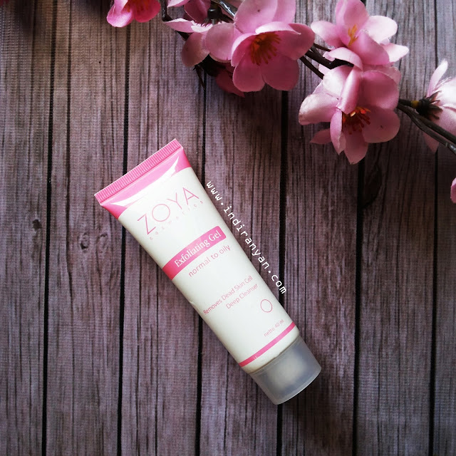 zoya cosmetics exfoliating gel