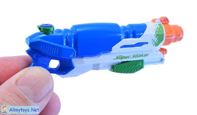 World smallest Nerf Super Soaker 3