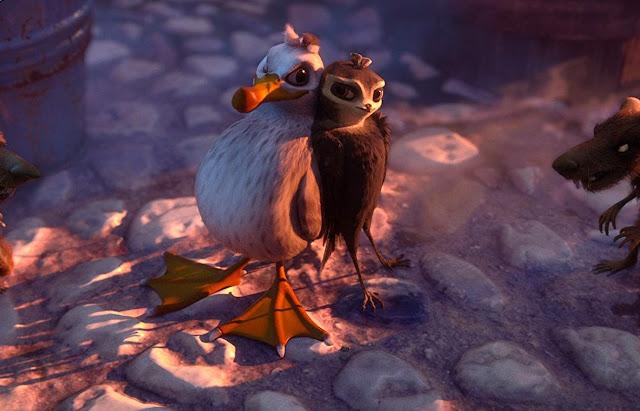 """Gaivotas desafiam os limites de uma andorinha no primeiro trailer de """"Voando Alto"""""""