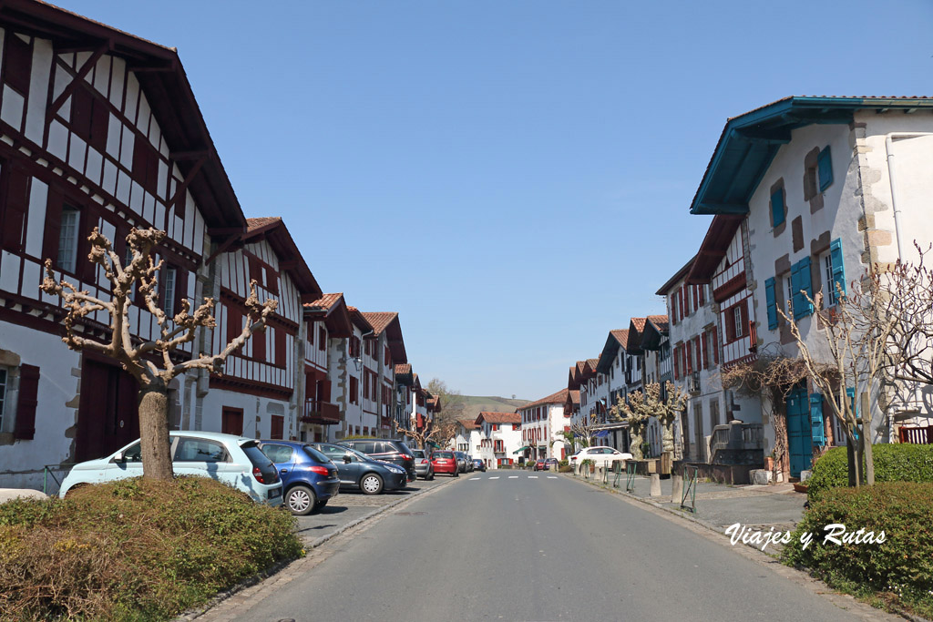 Calles de Ainhoa