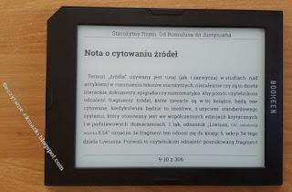 Tryb poziomy w czytniku Cybook Muse Light
