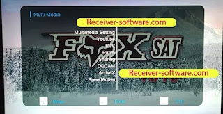 Fox Sat 1010 1506tv New Software With Ecast & Xtream Iptv