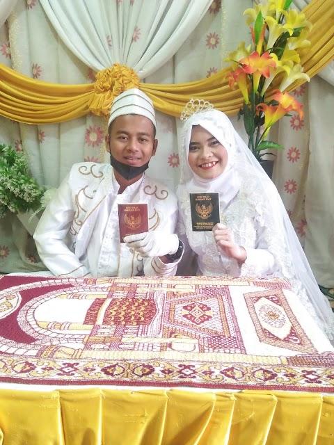 Viral,!! Ica Jadi mualaf dan Menikah di Bulan Ramadhan dengan pemuda Desa sekernan