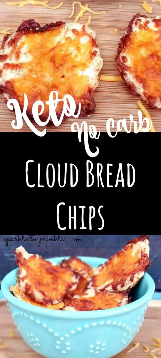 Cloud Bread Chips - No Carb #Cloud #Bread #Chips #NoCarb #Yummy
