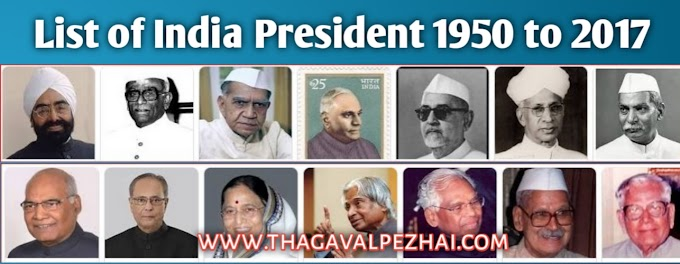 list of india president | 1950 to 2017 All President List & Years