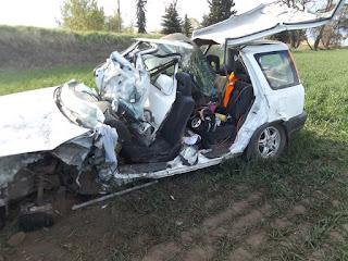 Injury Crash SB US95 at milepost 341.4, South of Moscow