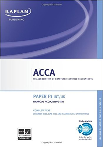 download acca books KAPLAN 2018