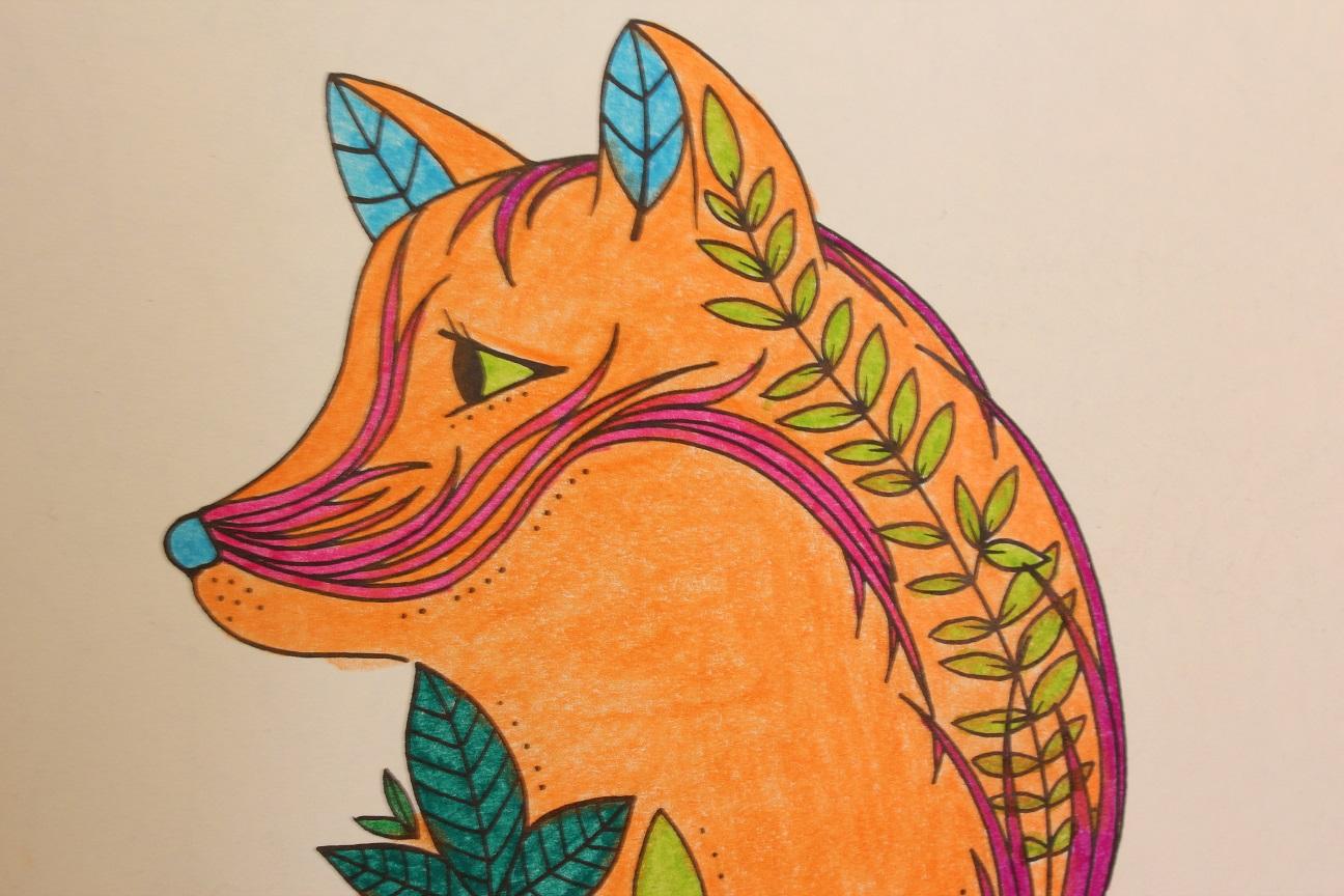 Gizemli Orman Buyukler Icin Boyama Kitabi 2