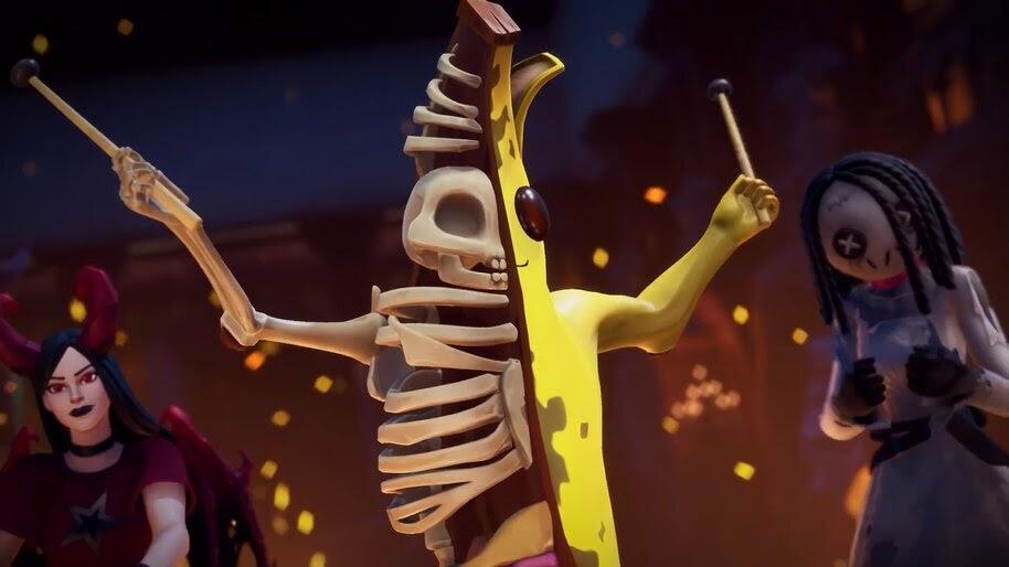 Fortnite, Peely Bone, Halloween, 4K, #5.1257