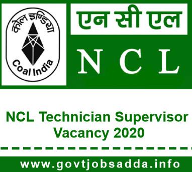 NCL Technician Supervisor Recruitment 2020 Apply Online
