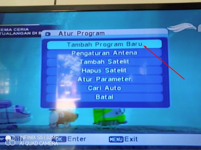 Cara Mencari Siaran Indosiar SCTV TV One Yang Hilang Matrix Apple Telkom 4 Parabola Jaring 1 LNB