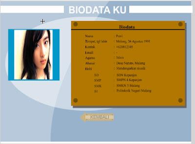 Biodata Anda