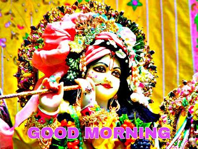 good morning krishna images