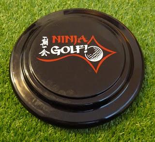 A Ninja Golf flying disc