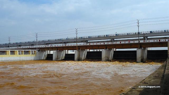Indrapuri Barrage Gate, Indrapuri Dam, Dehri on Sone