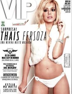 Revista Vip Thais Fersoza Setembro 2011