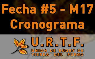 [URTF] Horarios: Menores de 17 - 15/04