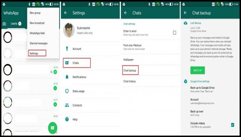 cara memindahkan whatsapp dari hp yang hilang