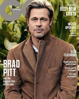brad pitt magazine cover