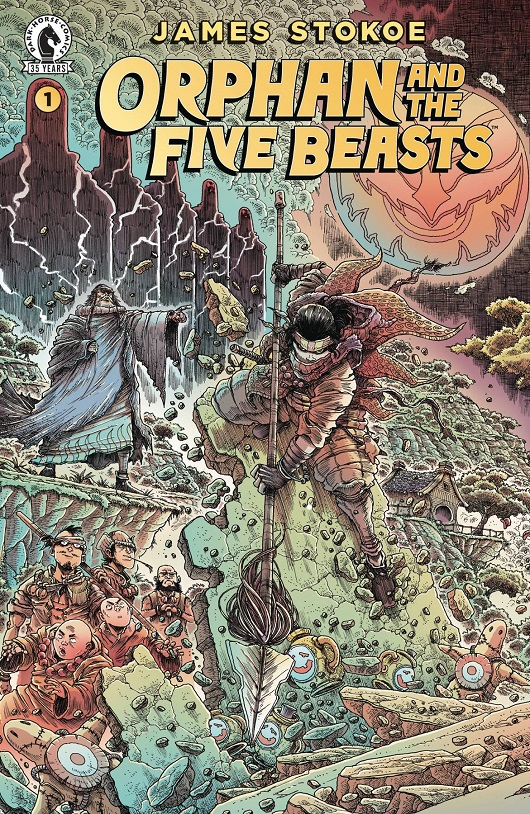 Cover of Stokoe's Orphan and the Five Beasts #1