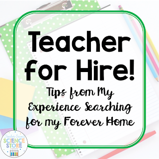 Teacher job search and interview tips