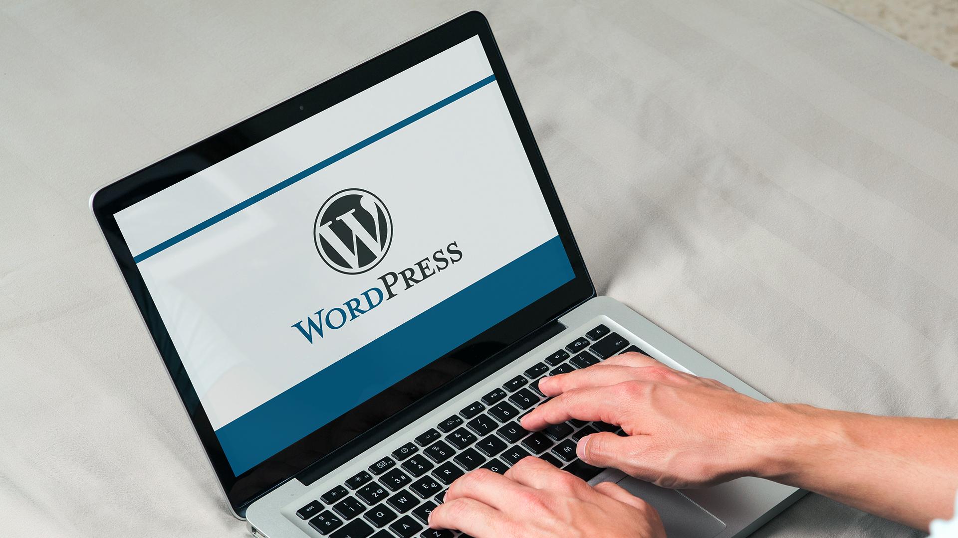 custom buil wordpress website