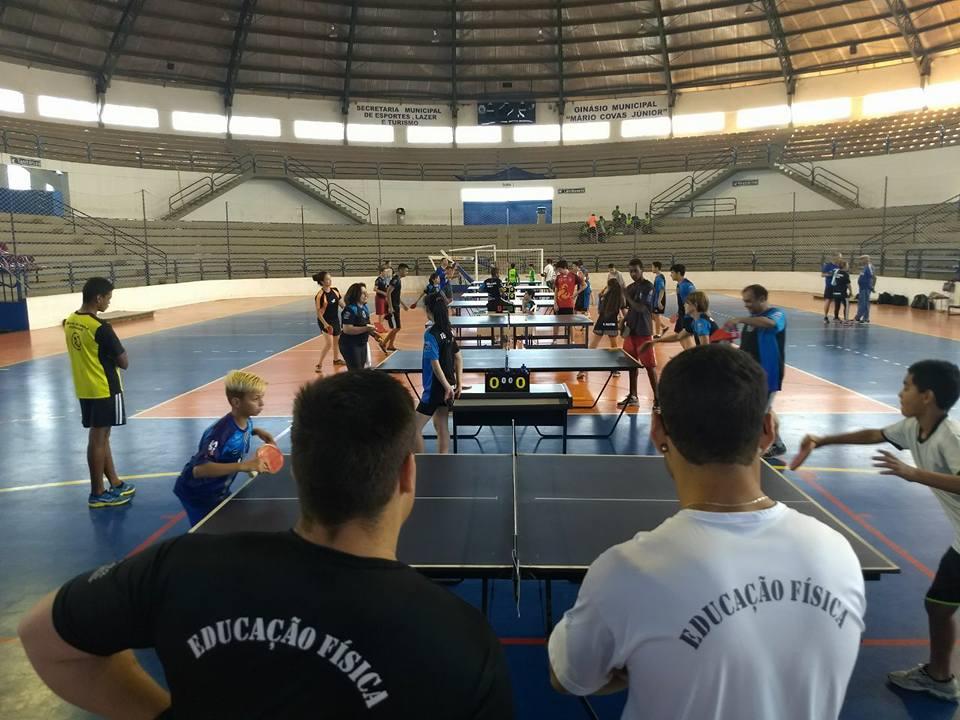 Ginásio Municipal foi palco de Torneio de Tênis de Mesa e175c558bc8a4