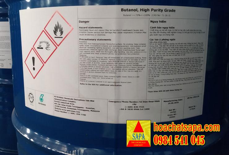 Dung môi n-Butanol (Nomar Butyl Alcohol)