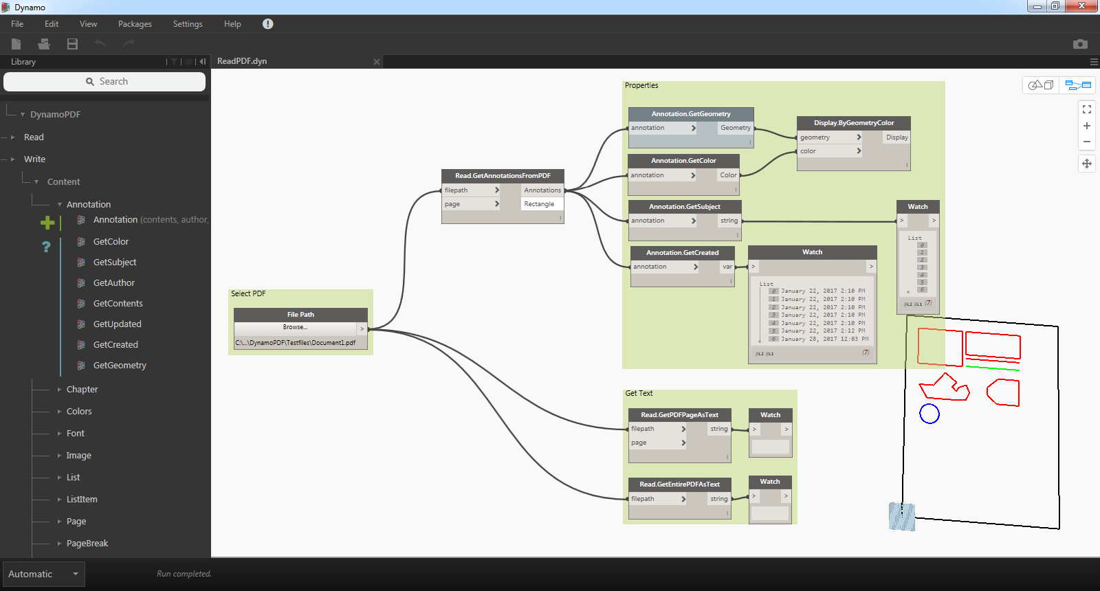 Revit Add-Ons: Free DynamoPDF Version 1 2 Released