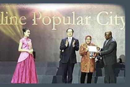 Surabaya Raih Penghargaan Guangzhou Award 2018 Sebagai Kota Terpopuler di Dunia