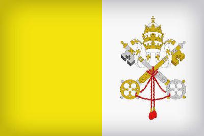 مدينة الفاتيكان العلم الوطني