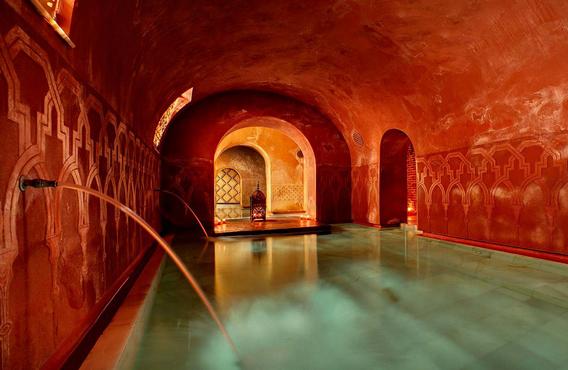 Take a steam bath at Hammam
