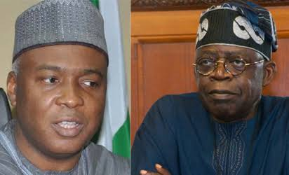 Tinubu Not Happy with Buhari Govt., Supporting Him for His 2023 Ambition - Saraki