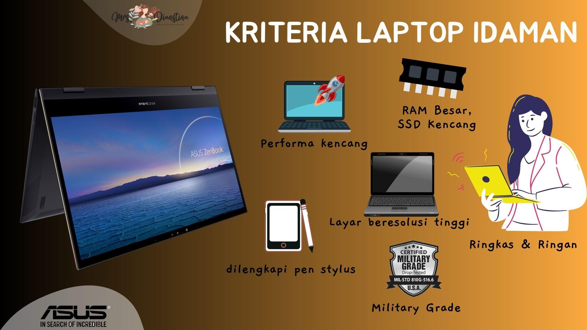 Kriteria Laptop Idaman