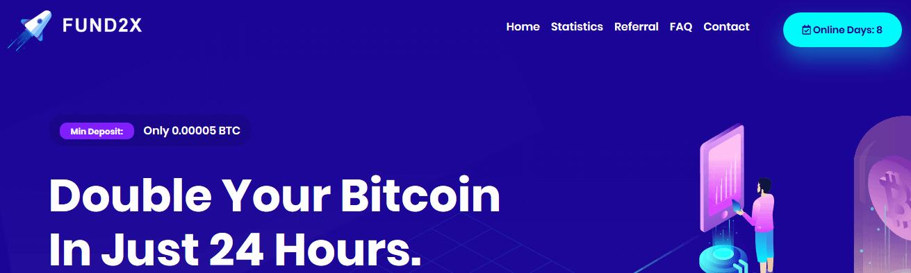 Мошеннический сайт fund2x.com – Отзывы, платит или лохотрон?