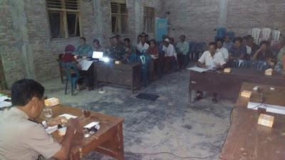 Sosialisasi Kekosongan Perangkat Desa di Desa Ngampel
