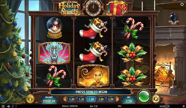 Main Gratis Slot Indonesia - Holiday Spirits (Play N GO)
