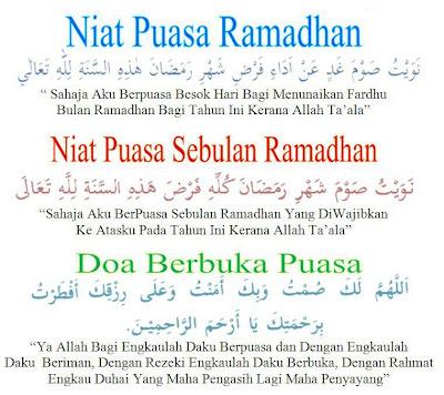niat puasa, bulan ramadhan