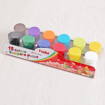 ألوان جواش مائية 12 لون
