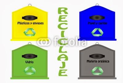 Reciclar en tiempos revueltos diferentes contenedores - Colores para reciclar ...