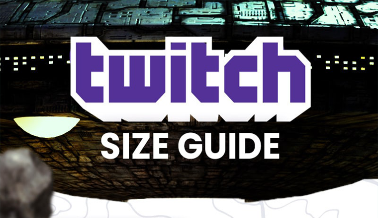 Twitch Image Sizes #Infographic