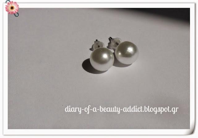 Σκουλαρίκια πέρλες