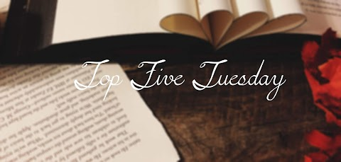 Top Five Tuesday: Top Five Books That Didn't Live Up To The Hype