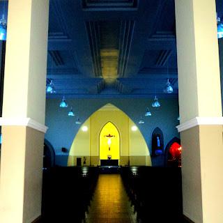 Interior da Igreja Matriz de Araranguá