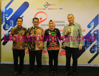 Dalam Ajang Indonesia Visionary Leader Sindo Media, Program BMW Gagasan Bupati Tulang Bawang Mendapat Apresiasi