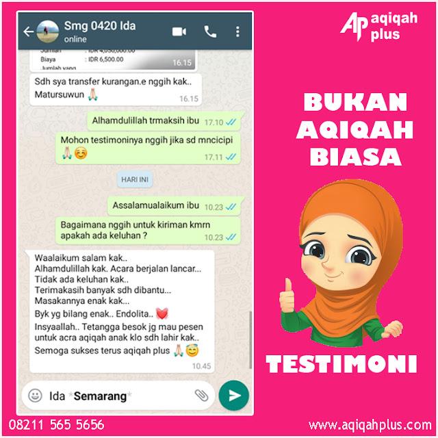 Review Aqiqah Semarang