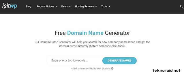 IsItWP Domain oluşturucu