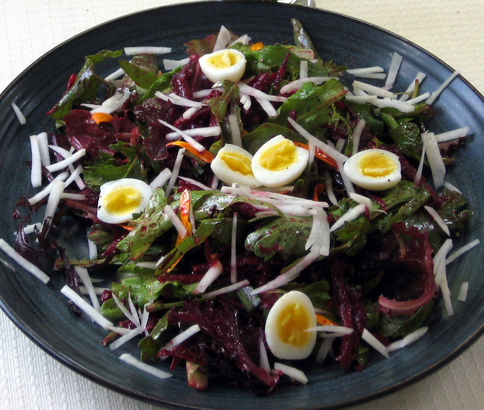 Cook Food Mostly Plants Spring Salad With Beet And