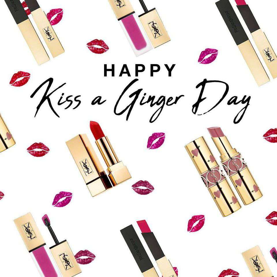 Kiss a Ginger Day Wishes Awesome Images, Pictures, Photos, Wallpapers