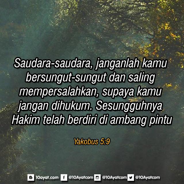 Yakobus 5:9
